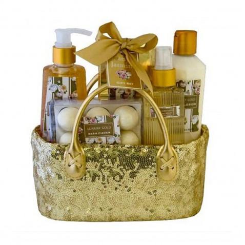 Salsa Collection Dárková kosmetická sada Gold peony & jasmine,  5 - dílná
