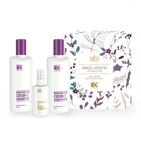 Brazil Keratin Miss Coconut set