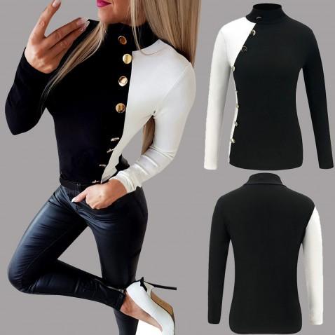 Dámské streetwearové tričko Black & White