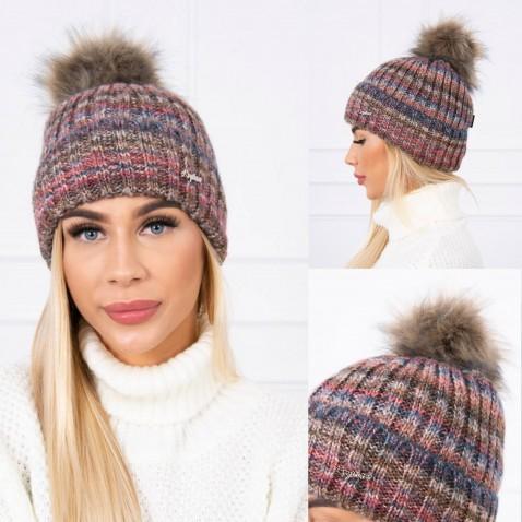 Dámská čepice Chloe - Plum
