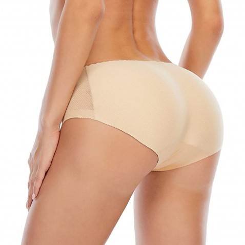 Push-up tvarovací kalhotky tělové