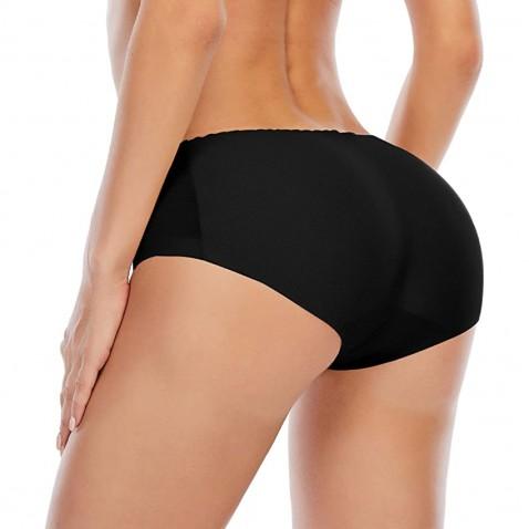 Push-up tvarovací kalhotky černé