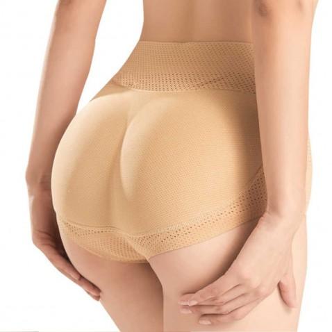 Push up tvarovací kalhotky se středním pasem tělové