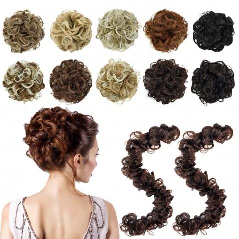 Tvarovatelný pás vlasů k vytvoření účesu