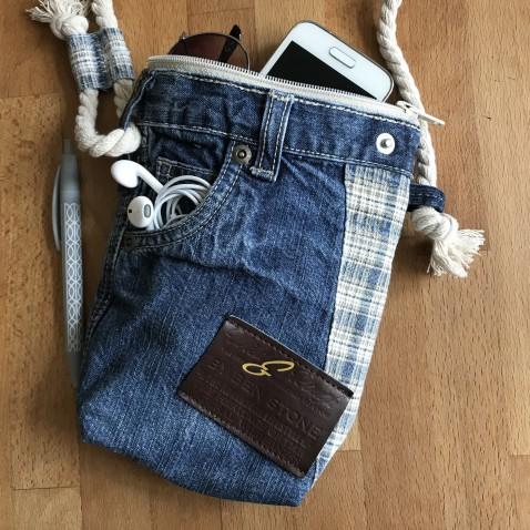 Džínová taška modrá Cross 2