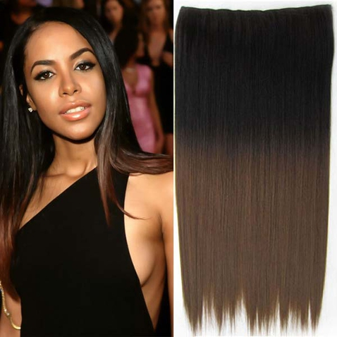 Clip in vlasy - rovný pás - ombre - odstín 2 T 10