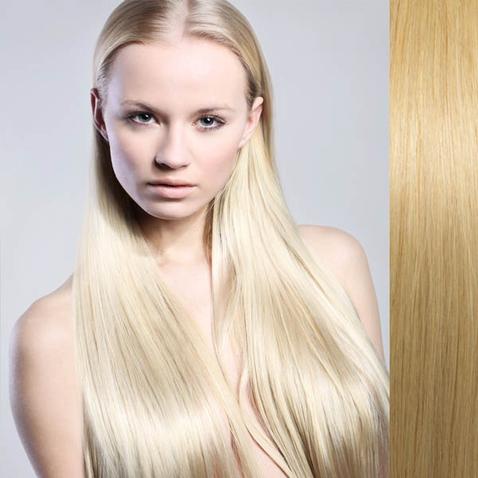 Clip in vlasy lidské – Remy 105 g - pás vlasů - odstín 613