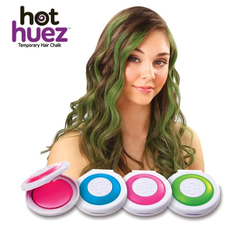 Hot Huez - omyvatelné vlasové barvy s rychlým aplikátorem