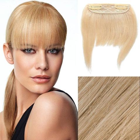 Clip in ofina – REMY 100% lidské vlasy - odstín 613