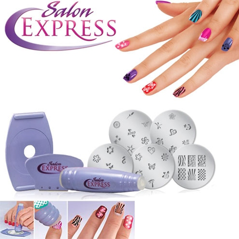 Razítka na nehty Salon Express