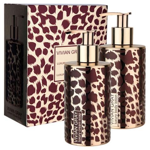 Vivian Gray Crystal Gold Safari luxusní dárková sada