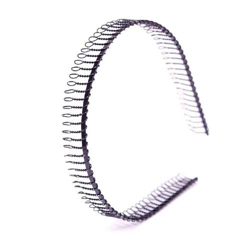 Sportovní, kovová čelenka do vlasů