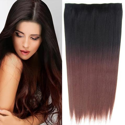 Clip in vlasy - rovný pás - ombre - odstín 2 T 33