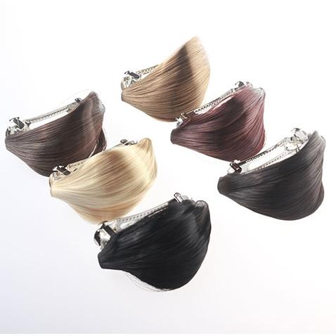 Elegantní spona do vlasů s vlasovým pramenem