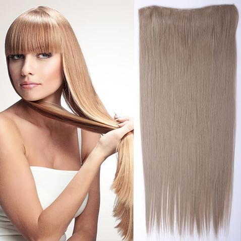 Clip in vlasy - 60 cm dlouhý pás vlasů - odstín 16