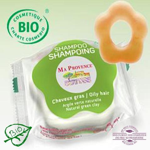 Tuhý šampon Bio Ma Provence na mastné vlasy, 85 g
