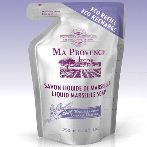 Bio mýdlo tekuté Marseille Levandule - náhradní náplň 250 ml