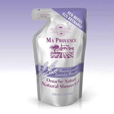 Bio sprchový gel Ma Provence Levandule - náhradní náplň 250 ml