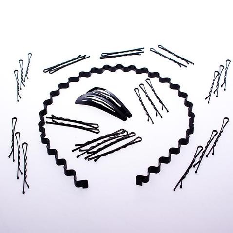 Vlasový set - čelenka a vlasové sponky