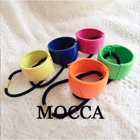 Spona pro tvorbu copu kovový obojek - samozavírací MOCCA