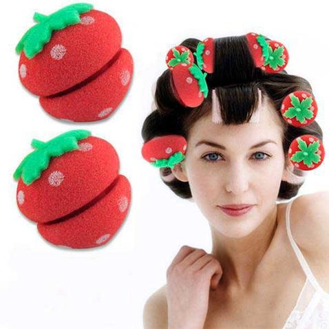Sada 12-ti pěnových natáček - jahody