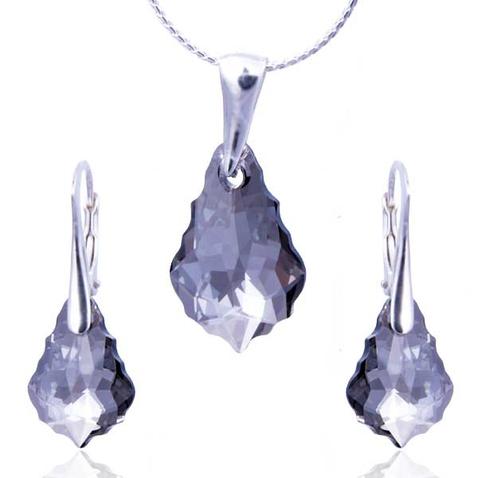 Souprava Swarovski elements – Baroko - Crystal Satin