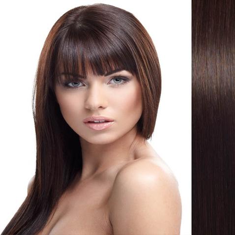 Clip in vlasy lidské – Remy 105 g - pás vlasů - odstín 2