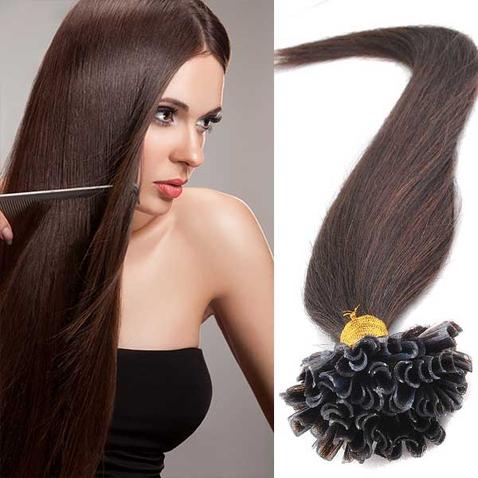 Vlasy keratin kvalita Remy AAA 51 cm, 100 ks - odstín 2