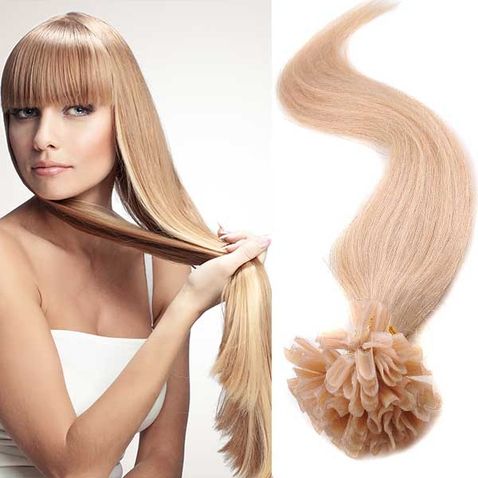 Vlasy keratin kvalita Remy AAA 51 cm, 100 ks - odstín 27
