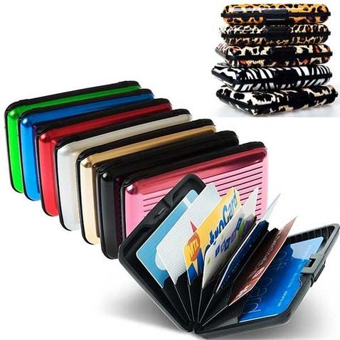 Pouzdro na doklady a platební karty ALUMA WALLET