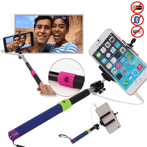 Teleskopická selfie tyč se spouští - STYLE