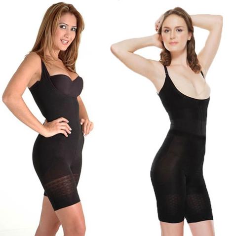 Stahovací trikot - Slim n´ Lift Supreme komfort- černá barva