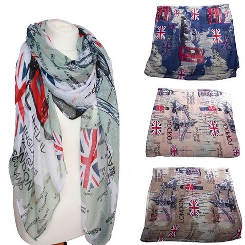 Dámský šátek London