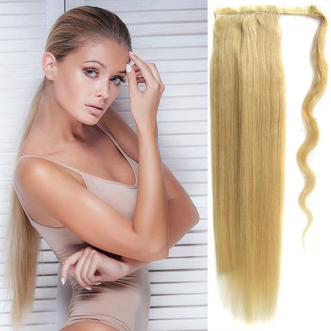 Culík, cop pravé lidské vlasy REMY, 51 cm - odstín 22