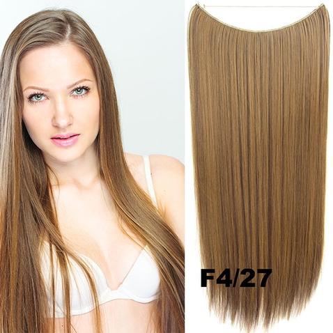Flip in vlasy - 55 cm dlouhý pás vlasů - odstín F4/27