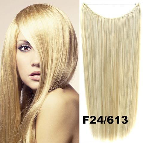 Flip in vlasy - 55 cm dlouhý pás vlasů - odstín F24/613