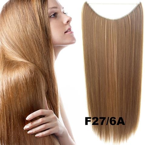 Flip in vlasy - 55 cm dlouhý pás vlasů - odstín F27/6A
