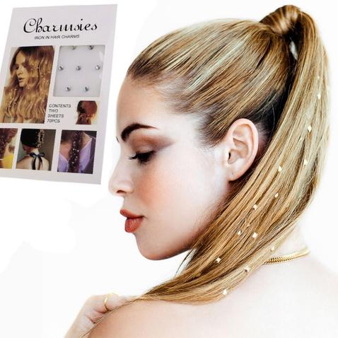 Nažehlovací kamínky do vlasů