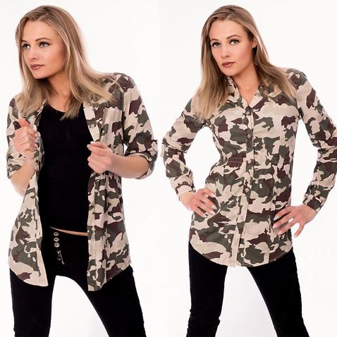 Dámská košile - army styl