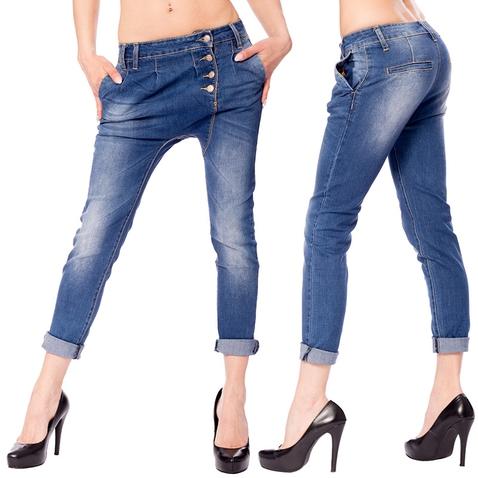 Dámské 7/8 džíny - Baggy Twins