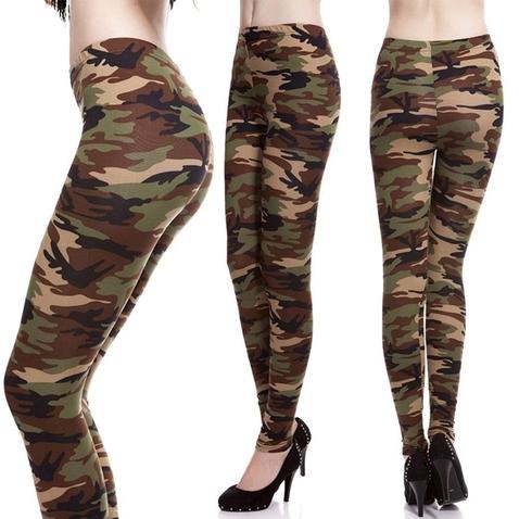 Bavlněné army legíny - Sand Camouflage
