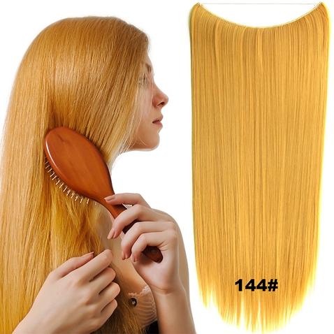 Flip in vlasy - 60 cm dlouhý pás vlasů - odstín 144