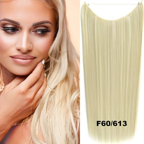 Flip in vlasy - 60 cm dlouhý pás vlasů - odstín F60/613