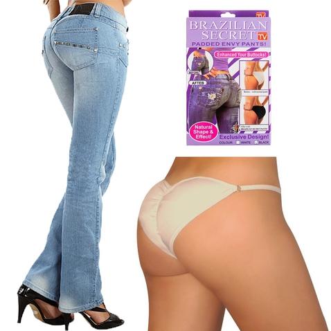Push - up kalhotky Brazilian Secret - bílé