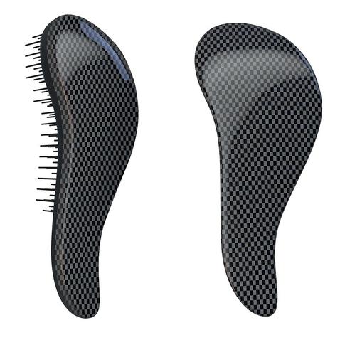 Dtangler rozčesávací kartáč na vlasy - Black Point