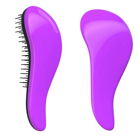 Dtangler rozčesávací kartáč na vlasy - Purple