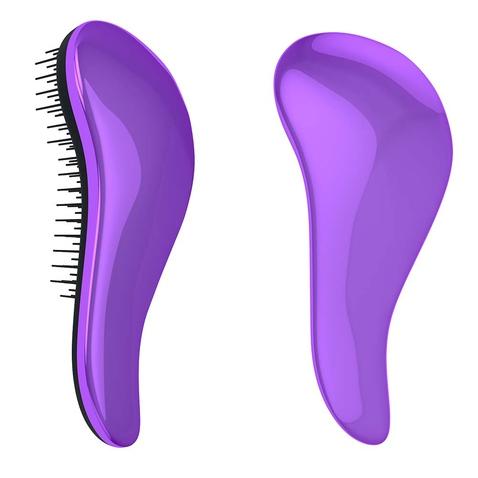 Dtangler rozčesávací kartáč na vlasy - Metalic Purple