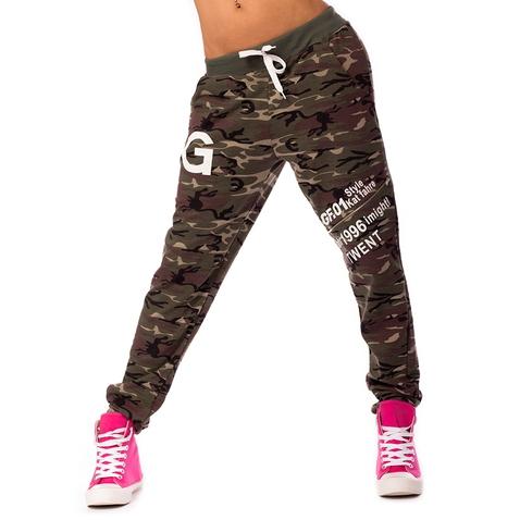 Dámské Army teplákové kalhoty