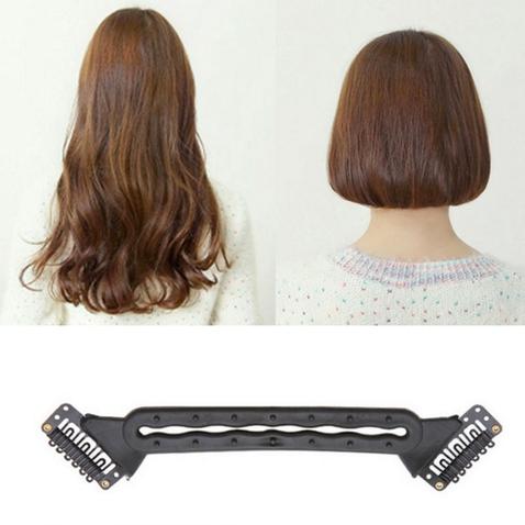 Clip in zkracovač vlasů - pomůcka pro vytvoření mikáda