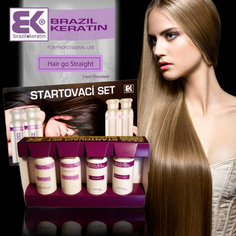 Brazil Keratin Start Set HGS 4 x 100ml